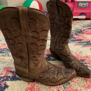 Lucchese Boots- Worn Once 7 1/2